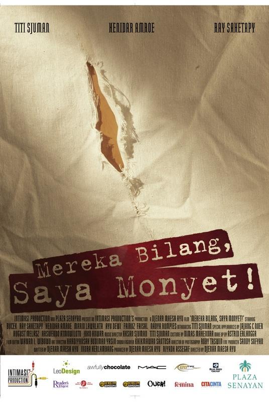 #7 Mereka Bilang, Saya Monyet (Djenar Maesa Ayu). 2007