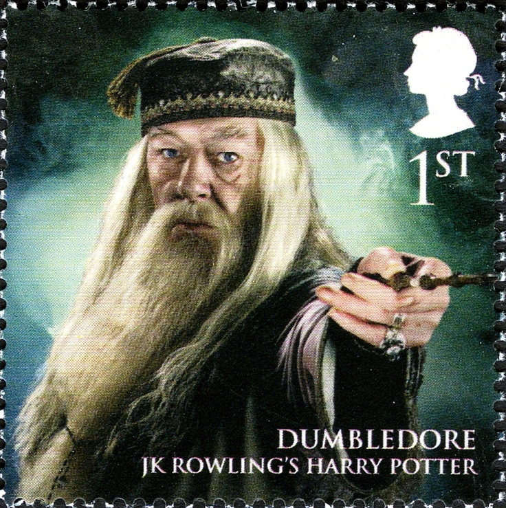 Literary Stamps: Rowling, J.K. (b. 1965)  Harry Potter's Dumbledore & Voldemort featured on limited-edition Royal Mail stamps - SnitchSeeker.com
