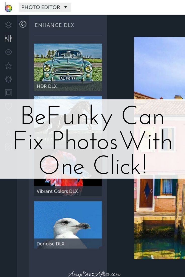 Do you ever get frustrated with online image editors that make your photos look fake? BeFunky just introduced four photo enhancers that can solve some of the most common image issues with just one click! Whether your photos were taken in low light, they're blurry, or the colors look washed out, BeFunky might be able to help, and you don't have to know anything about photography in order to use their tools. Plus, BeFunky does all of the other stuff you would expect from an online image…