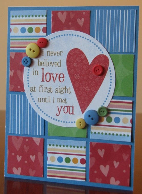404 best Cards  Valentine images on Pinterest  Cards Buttons