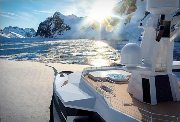 Recentemente apresentado no Mônaco Yacht Show, o espectacular SeaXplorer, feito pelo Damen Yachts, é para aventureiros que sonham em descobrir o mundo além dos limites, visitar os lugares mais remotos da Terra no maior estilo e c