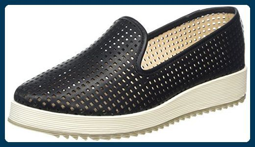 Tendance Chaussures 2017/ 2018 : La Strada Black loafer Damen Espadrilles Schwarz (1901  soft black) 40 EU
