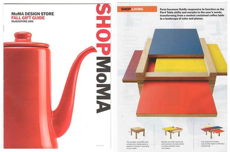 #Mini Par4 @ #MoMA, fall gift guide.  #design  #furniture  #style designe by Bernard Vuarnesson.