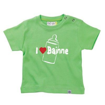 I love Bainne Baby T-Shirt by Hairy Baby