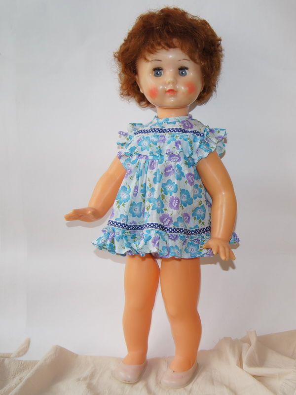 Большая кукла Марина, фабрика им. 8 Марта, СССР, 70 см ...
