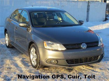 Volkswagen Jetta 2.5L Highline Navigation / Aut 2011 usagé à vendre à Laval pour 12900 $. 76023 Km.