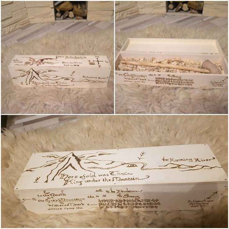 Map For Lord Of The Rings%0A  Middle  Earth  Bilbo  map  wood  box  pipe  engraved