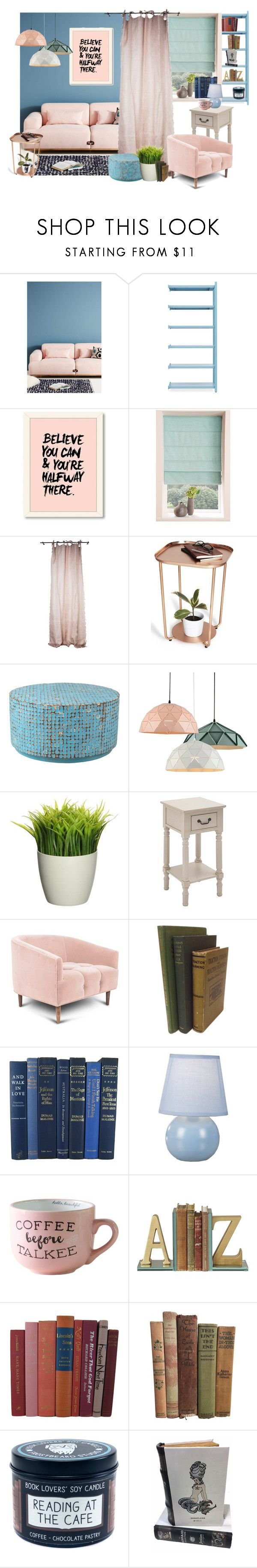 """Fluffy Retro"" by iris234 on Polyvore featuring interior, interiors, interior design, home, home decor, interior decorating, Bosc, Normann Copenhagen, Sagebrook Home and East at Main"