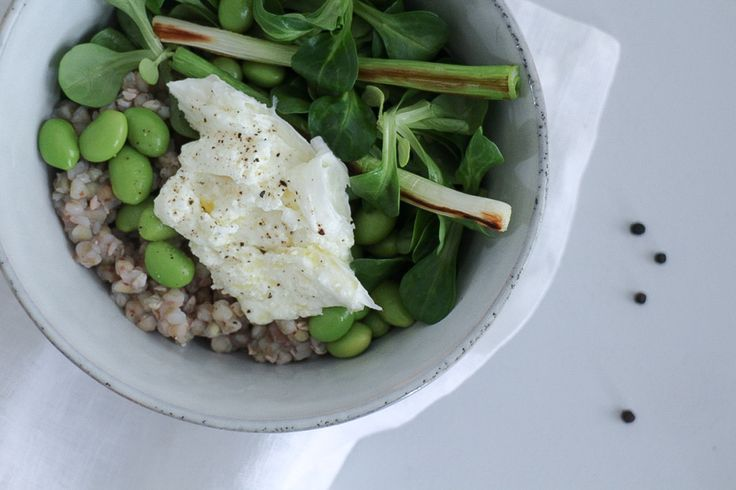 Crispy Greens In A Bowl