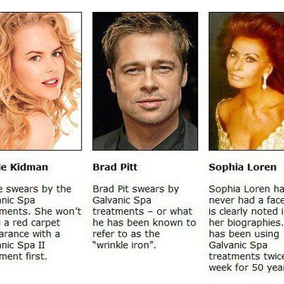 Celebrities love Nu Skin... it's just that amazing! Facial Spa has been released and is FDA approved! Contact me to Order yours today! www.devon.nsproducts.com