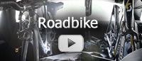The BikeInside bicycle rack for roadbikes: transport your roadbikes clean and safe inside your vehicle.