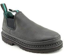 Georgia Boot Romeo Women Round Toe Leather Work Shoe.