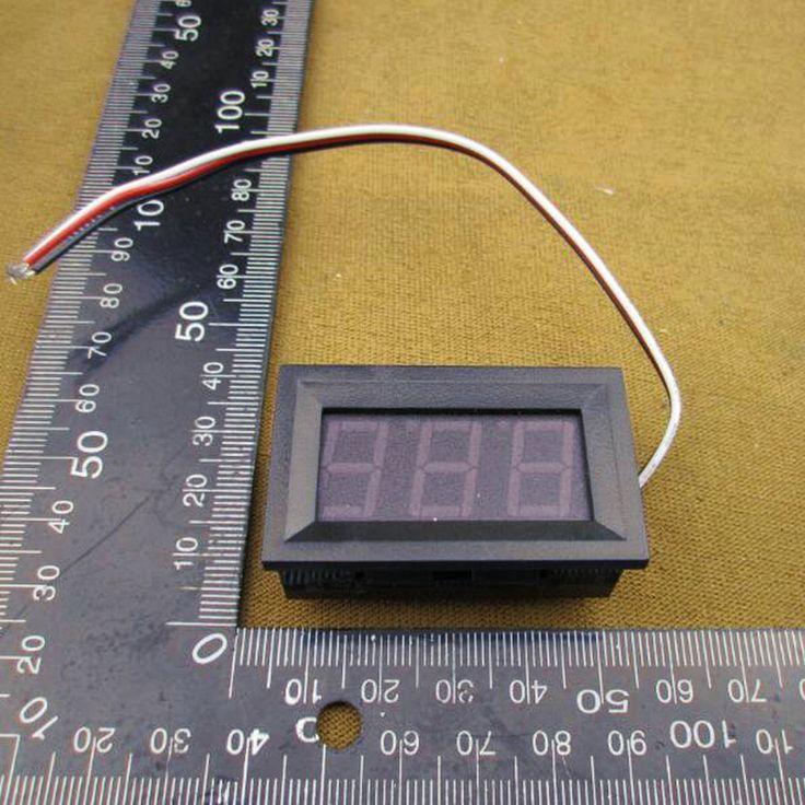 $1.28 (Buy here: https://alitems.com/g/1e8d114494ebda23ff8b16525dc3e8/?i=5&ulp=https%3A%2F%2Fwww.aliexpress.com%2Fitem%2F1pcs-lot-DC-Digital-Voltmeter-0-99-9V-RED-LED-Digital-Panel-Meter-99-9V-Voltage%2F32522775633.html ) 1pcs/lot DC Digital Voltmeter 0-99.9V RED  LED Digital Panel Meter 99.9V Voltage Meter DC Power Monitor #0101 for just $1.28