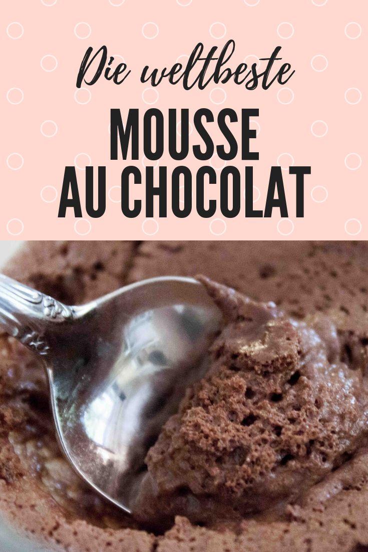 Die beste Mousse au chocolat der Welt