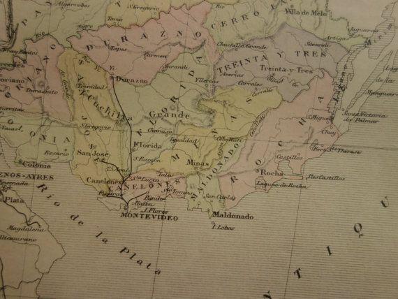 Best Map Of Uruguay Ideas On Pinterest Uruguay Map - Uruguay map atlas
