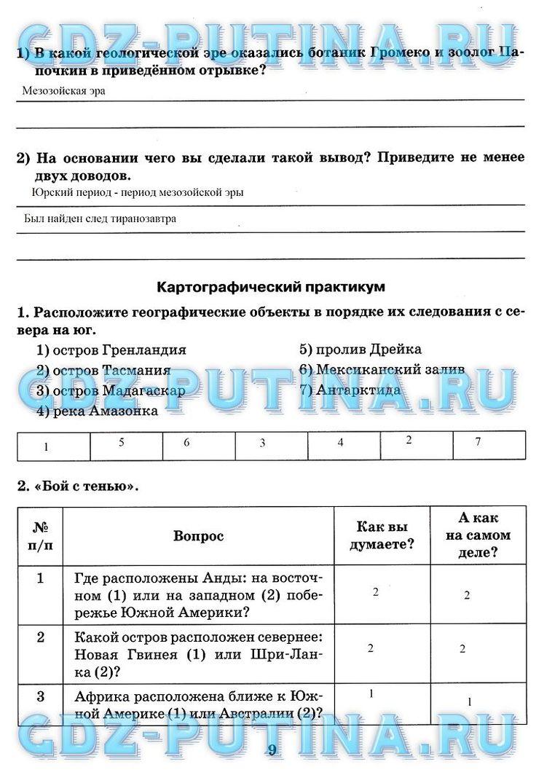 Ответы на вопросы по географии за 6 класс.н.я.яцкевич