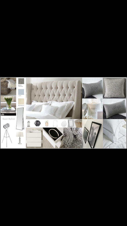 Master Bedroom Mood Board Creates By Moo Interior Design Based In Milton Keynes