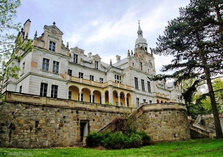 Pałac w Biechowie powstał w roku 1865 według projektu Karla Ludecke dla rodu von Matuschke. Po II wojnie światowej budowla niszczała aż do lat 60. XX wieku, kiedy umieszczono tu placówkę oświatową.