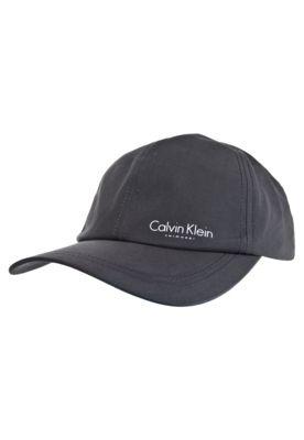 Boné Calvin Klein Brand Cinza
