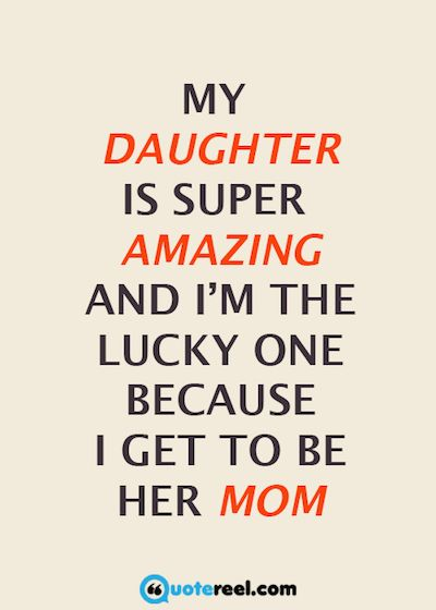 Funny I Love You Daughter Quotes : ... Daughter quotes, Special daughter quotes and Love my daughter quotes
