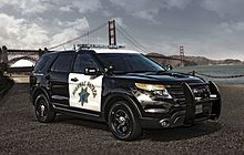 The Ford Police Interceptor Utility is available only in all-wheel drive and takes advantage of larger disc brakes, more advanced ABS and traction control systems, and a more efficient cooling system. The PI Utility comes with a column-mounted shifter as well, to allow more space available for equipment. In May 2014, statisticians R.L. Polk declared the PI Utility the most popular police vehicle, based on 2013 U.S. sales figures. For 2014, the 365 hp EcoBoost V6 engine will be available.