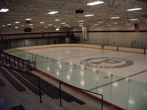Customize Your Ice Hockey Dasher Boards With Rink Systems Inc. It Is  Available In Either Steel Or Aluminum All Of Our Dasher Boards Systems.