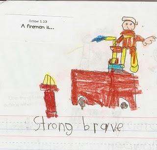 A fireman is...