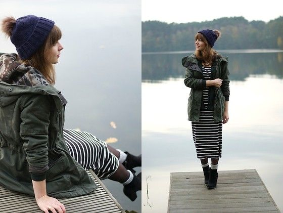 Marie Lund Beanie, Only Parka, Vila Dress