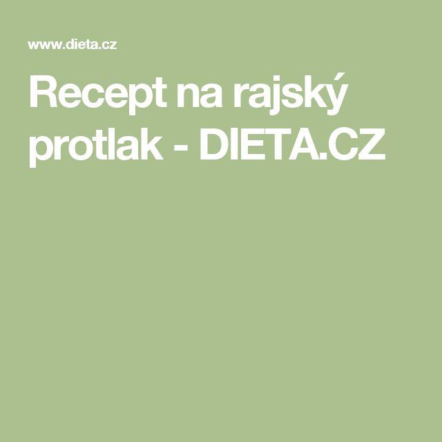Recept na rajský protlak - DIETA.CZ