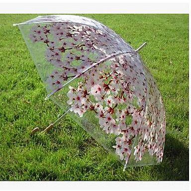 sakura transparente guarda-chuva transparente guarda-sombra do guarda-chuva planos retos retos de 5131804 2016 por €140.93