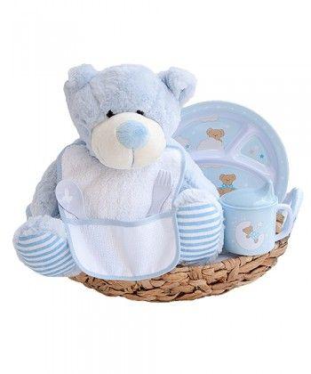 Canastilla de bebé Iquitos - azul -