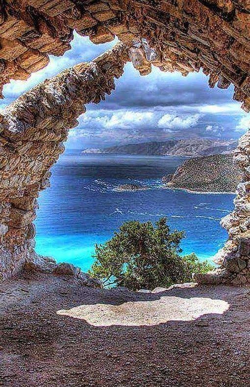 A picturesque Milos Island in Greece.