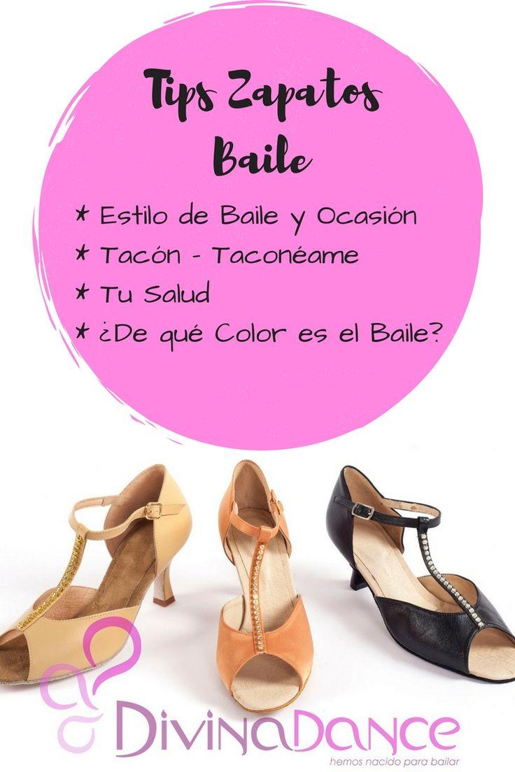 Es esencial elegir un buen zapato de baile en tus clases de baile en tu escuela de baile, ten en cuenta el tipo de baile: zapatos para bailar salsa, zapatos para bailar tango, zapatos para bailar latino, danza del vientre, flamenco.
