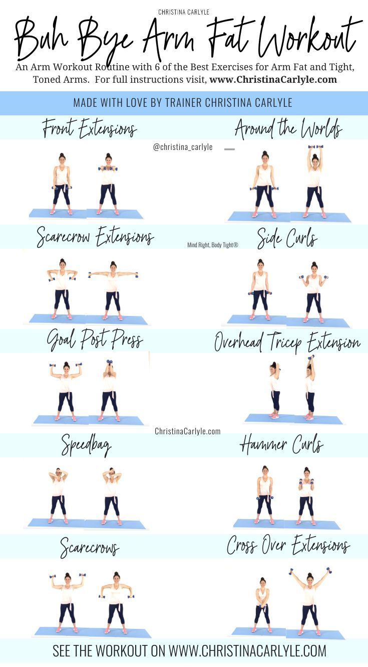 5 Arm Workouts At Home For Busy Women To Tone Up In 2020 Body Workout At Home Arm Workouts At Home Arm Workout