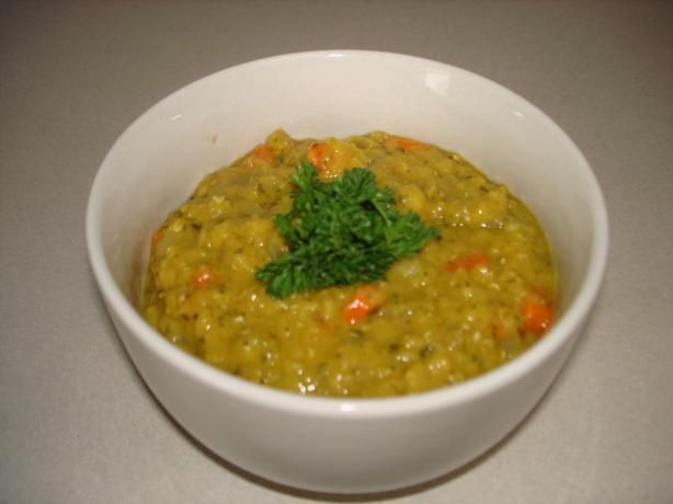 Curried Red Lentil Soup With Lemon from Food.com: I got this recipe ...