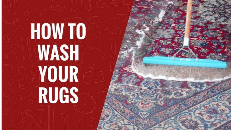 How to Wash Your Rugs | Carpet Care | #rugs #carpets
