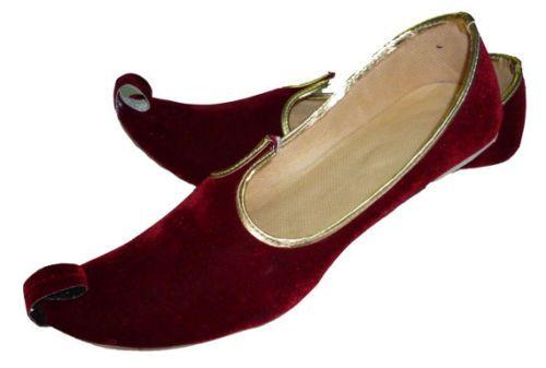 gents-shoes-Sherwani-jutti-Men-Slipper-Aladdin-toe-sandals-Khussa-Shoes-USA-10
