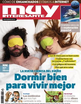 Muy Interesante Marzo 2012: Dormir bien para vivir mejor