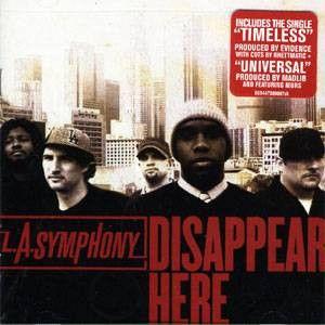 LA Symphony - Disappear Here, CD