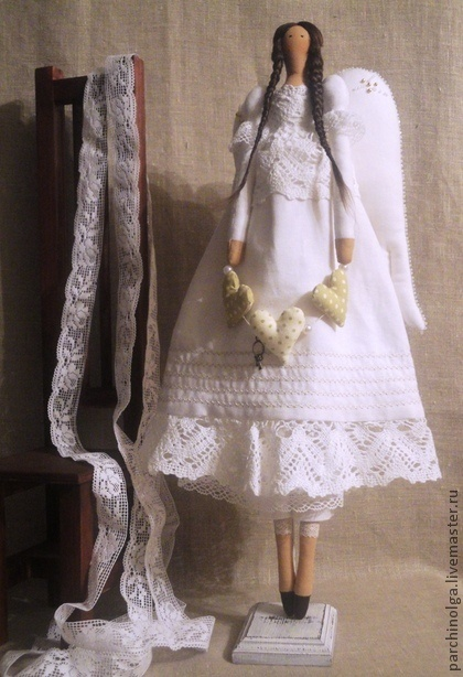 Куклы Тильды ручной работы. Ярмарка Мастеров - ручная работа Белый Ангел. Handmade.