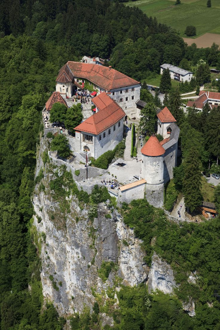 Bled Castle (Slovene: Blejski grad, German: Burg Veldes) is a medieval castle built on a precipice above the city of Bled in Slovenia, overlooking Lake Bled. According to written sources, it is the oldest Slovenian castle and is currently one of the most visited tourist attractions in Slovenia.