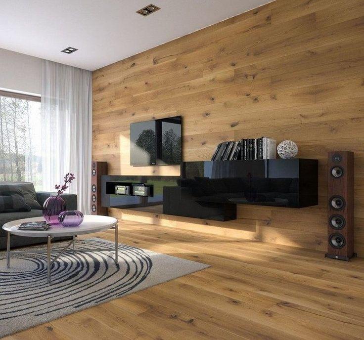 parement mural salon et peinture artistique en 80 id es d co d co int rieure et agencement. Black Bedroom Furniture Sets. Home Design Ideas