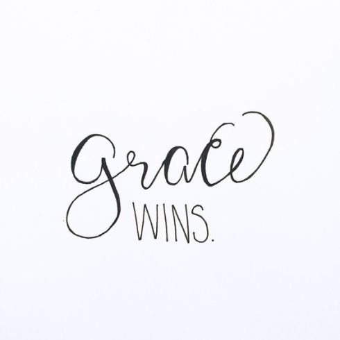 Grace Wins | Intentional living