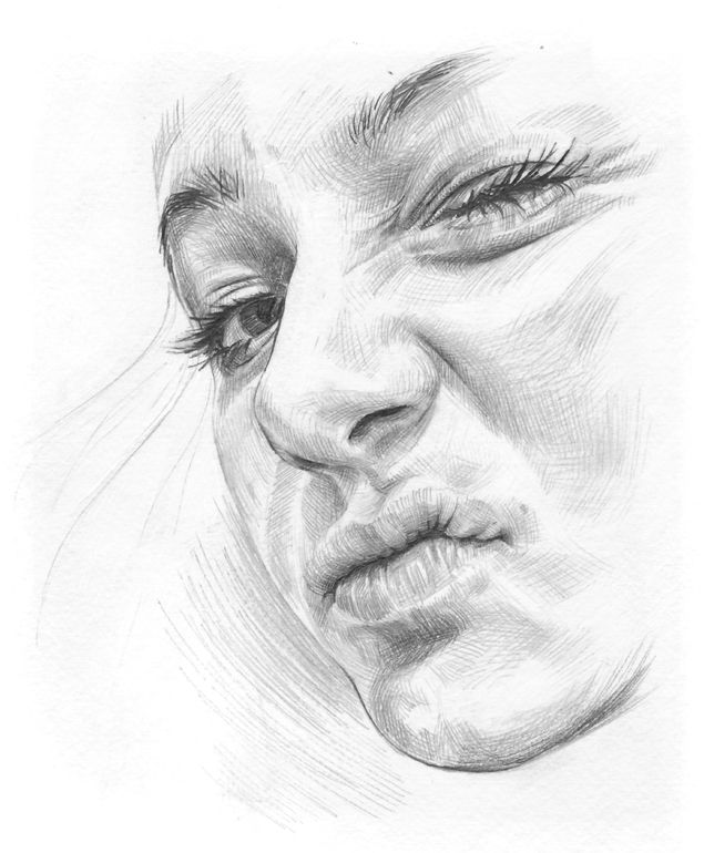 Artist hb graphik pencil drawing slack