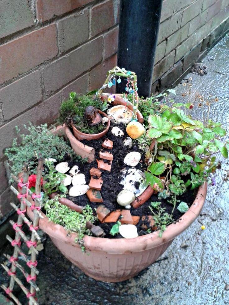 Diy c mo hacer un jard n de hadas para esta primavera for Como hacer un jardin