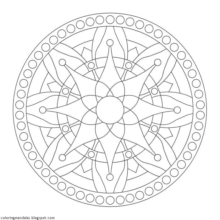 Coloring Mandalas 37 Nourish | Bullet Journal | Pinterest ...