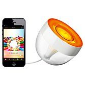 Philips Friends of Hue LivingColors Iris Colour Changing LED Mood Light, Clear at John Lewis