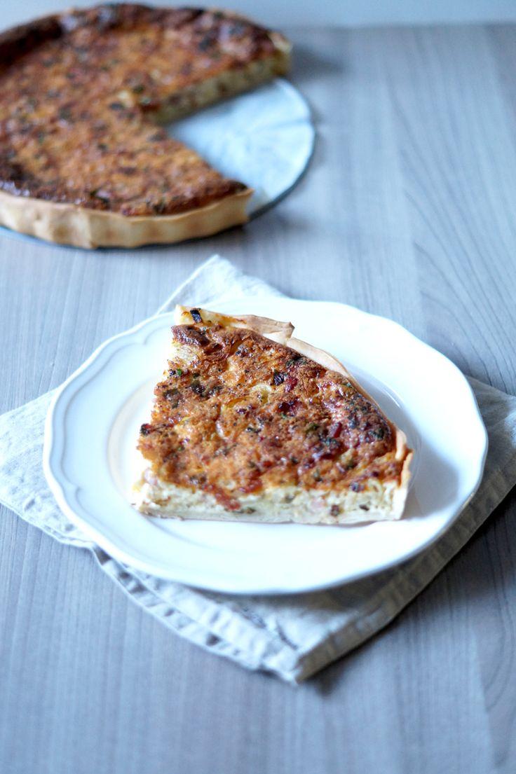 Eenvoudig en lekkere Australische quiche met spek, kaas en een bijzonder ingrediënt: anijs!
