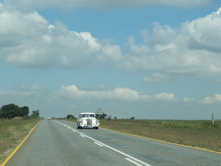 On the road to Vaal Dam, Gauteng, South Africa