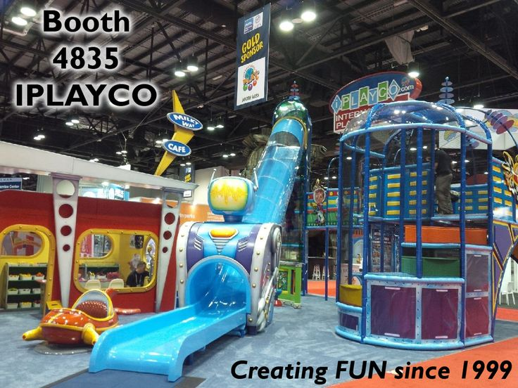 """Iplayco as been creating FUN since 1999. Drop by and see us at the IAAPA Orlando show. We are at booth #4835. View our  product """"Turbo Slide"""" and also view our new """"My Town"""" educational play village store front. #Iplayco #MyTown #TurboSlide #weBUILDfun #IAAPA #IAE15 #IAAPA2015 #IAAPAHQ"""